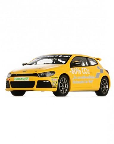 大众汽车尚酷r-line 黄色车模 1:43