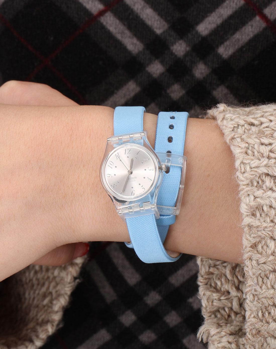 中性前卫可更换表带石英手表蓝色/黄色/绿色