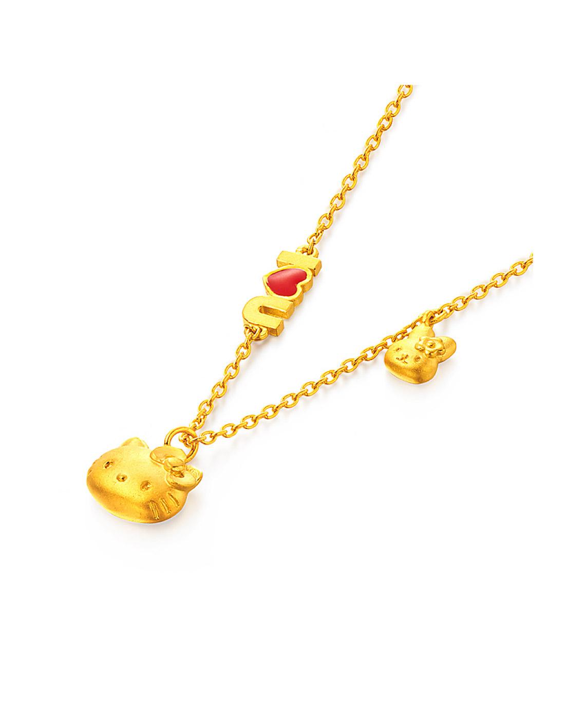 18k黄金项链女时尚【多图】_价格_图片- 天猫精选