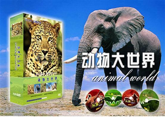 动物世界探索奥秘14dvd(b)
