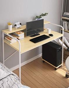 特惠 哈比简易层板书桌,桌面特大升级版 唯品会