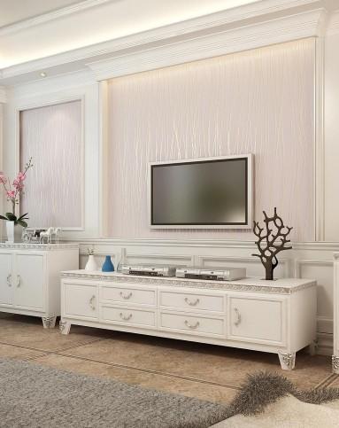 现代简约墙纸 无纺布壁纸 电视背景墙
